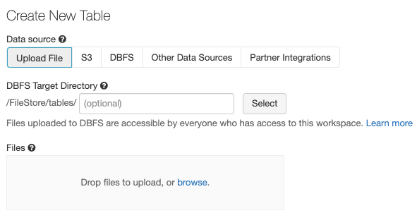 Databases and Tables — Databricks Documentation