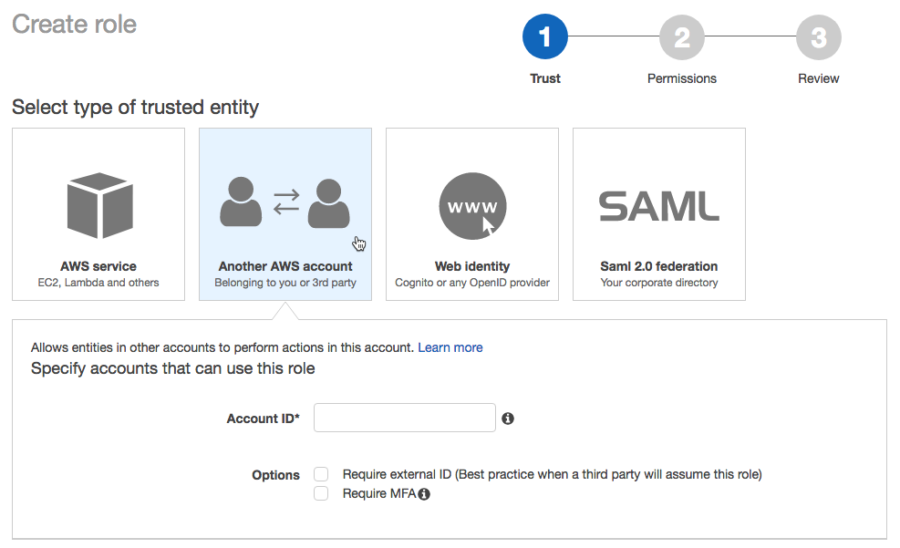 AWS Account — Databricks Documentation